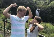 Quatsch am Wasserfall an der Road To Hana