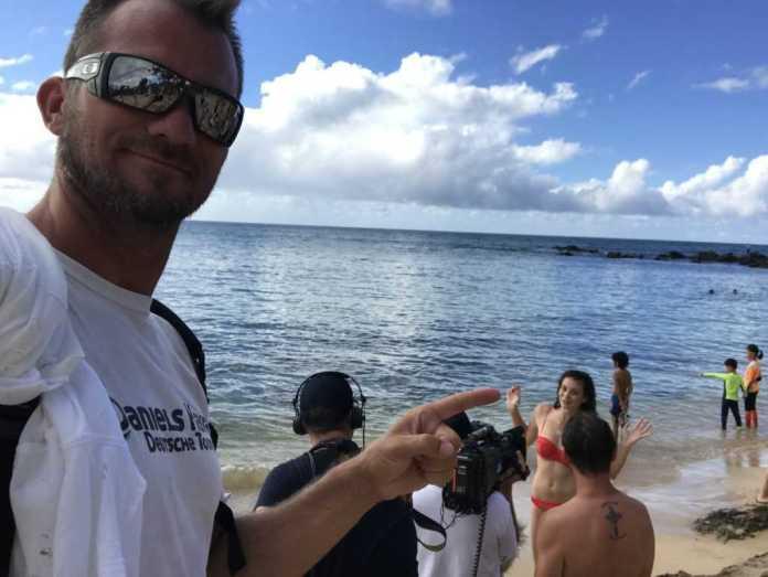 Schildkröten Strand in Hawaii
