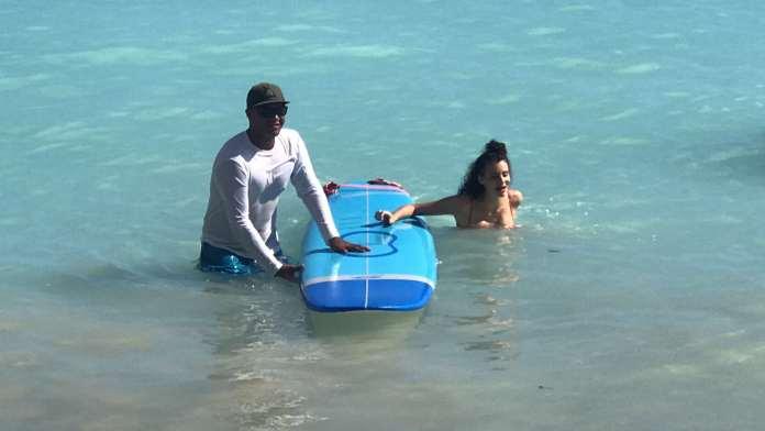 Betty Taube Surfen Waikiki
