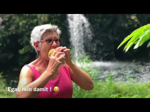 Deutsche Tour auf Maui – Wasserfälle, Höhlen & schwarzer Sandstrand