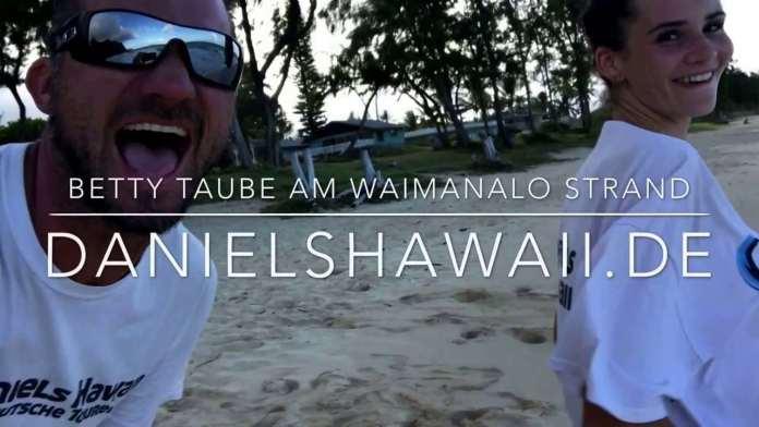 Traumstrand in Hawaii – Betty Taube am schönsten Strand der USA