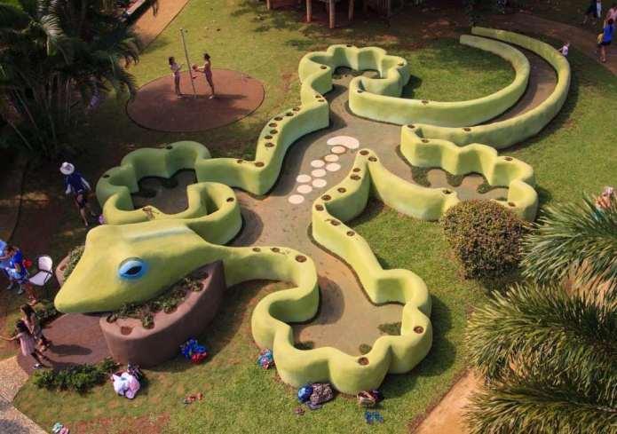 Der kinderfreundliche Ausflug im Hawaii Urlaub in den Botanischen Garten Kauai