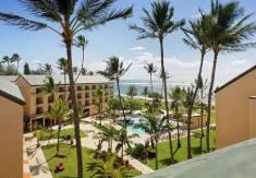 ocean view room Courtyard by Marriot Kauai at Coconut Beach