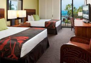 Courtyard King Kamehamehas Kona Beach Hotel guest room