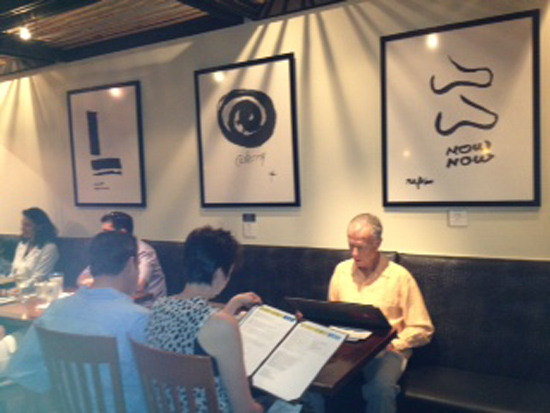 Diners at Monstera (Photo by Stephanie Carpenter)