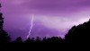 Lightning and thunder put on quite a show Saturday night (Oct 26) as seen in this image taken in Glenwood. Photography by Baron Sekiya | Hawaii 24/7
