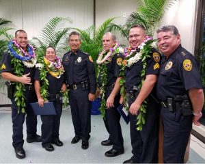 """Police Captain Robert F. Wagner was named """"Hawaiʻi County Manager of the Year"""" in a ceremony Monday afternoon (November 21) in Hilo.  Wagner, a 31-year veteran of the Hawaiʻi Police Department, is the commander of the Area I Criminal Investigations Division, which includes the Criminal Investigations Section, the Vice Section and the Juvenile Aid section. Area I CID is responsible for the Hamakua, North Hilo, South Hilo and Puna Districts."""