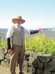 Dick Hershberger as Dr. Thomas A. Jaggar