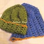 初心者でもザクザク編める!レース編みみたいな可愛い帽子♪