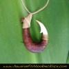 fossilized walrus ivory koa wood