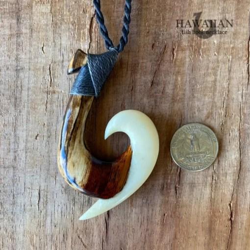 kanakamana fish hook necklace
