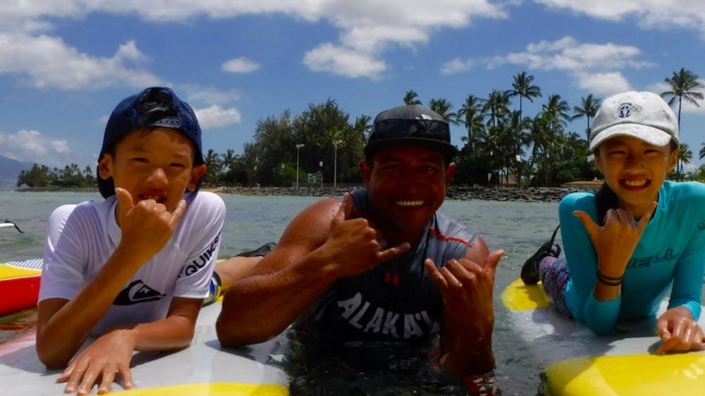 Best Maui Surf Lessons For Beginners: Aloha Surf School at Hawaiian Ocean Sports