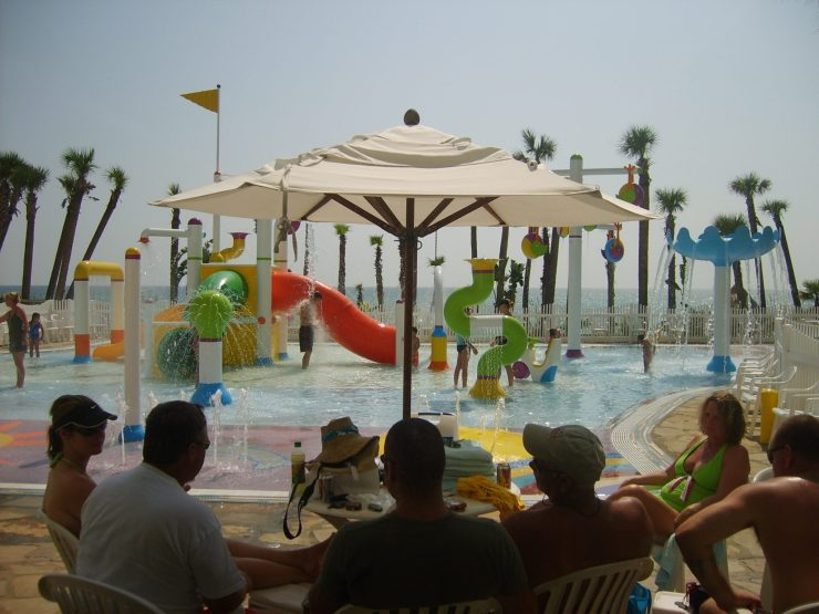 Seating Area of Pool