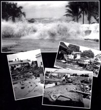 "Photos featured on ""The Tsunamis of 1946 and 1960 and The Devastation of Hilo Town."" Photos from the PTM Archives."
