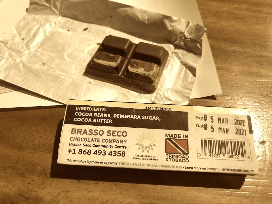 Trinidad, Chocolate, Brasso Seco, blog header