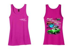 HCC Logo Ladies Tank - Pink