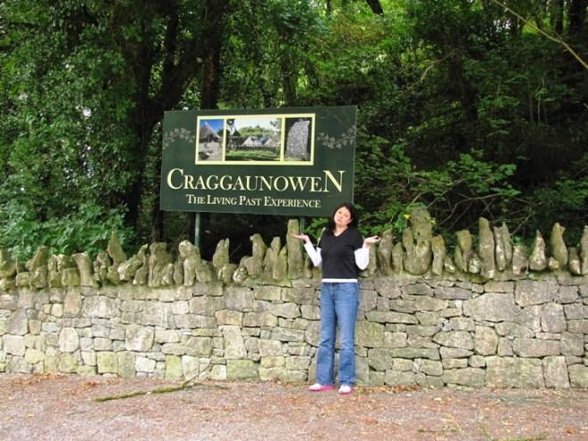 Craggaunowen in County Clare