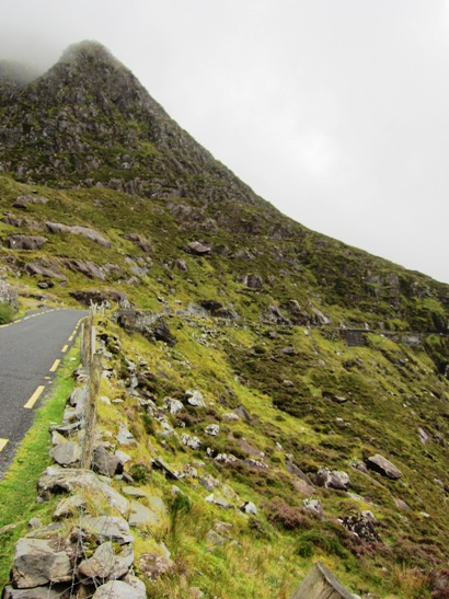Connor Pass on the Dingle Peninsula Drive