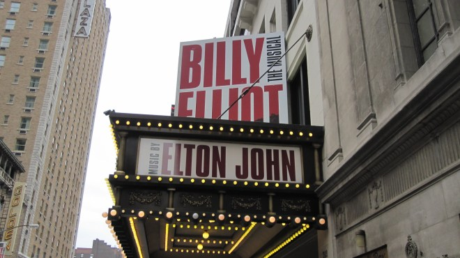 Billy Elliot in New York City