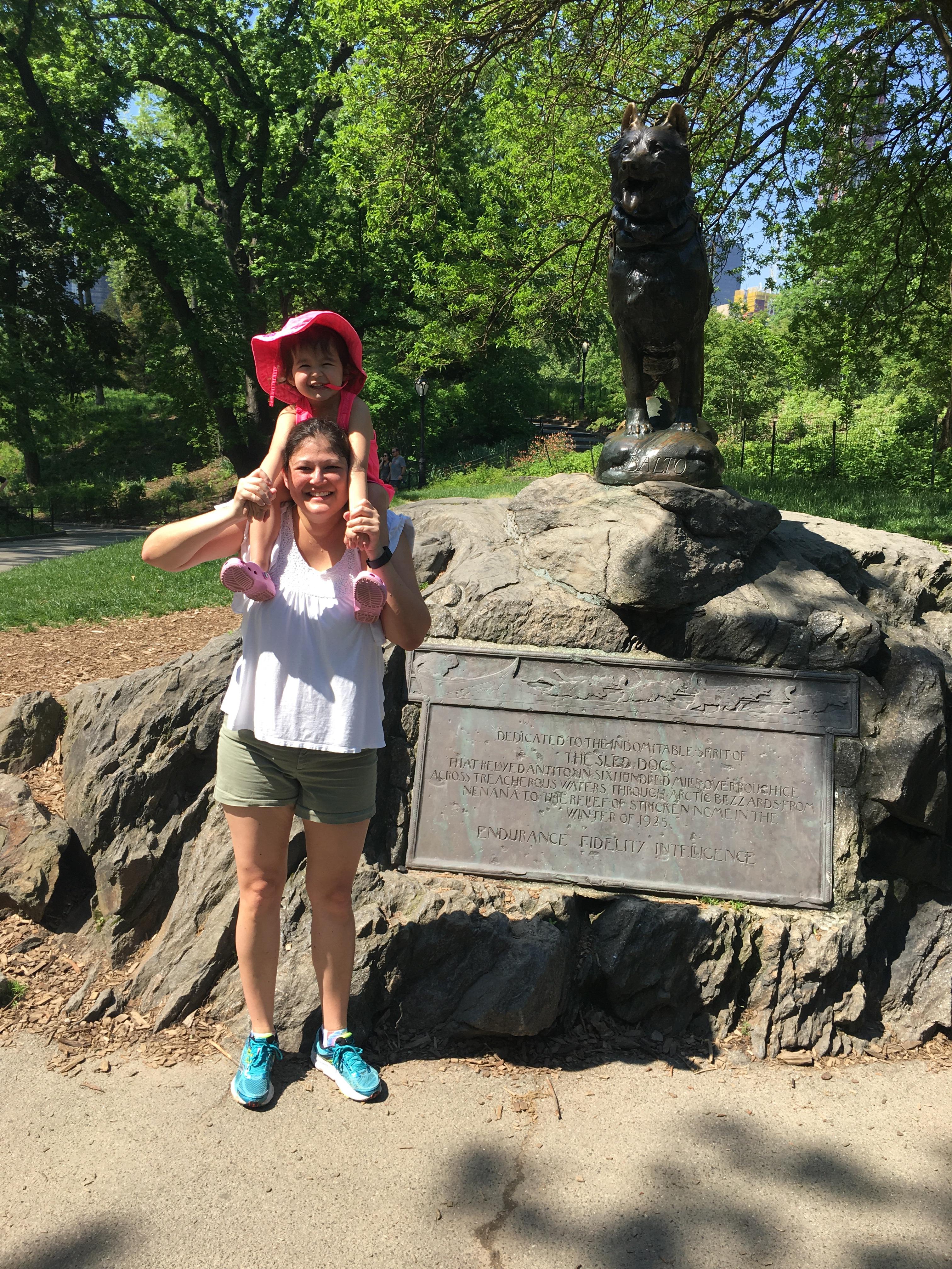 NYC Itinerary: Balto Statue