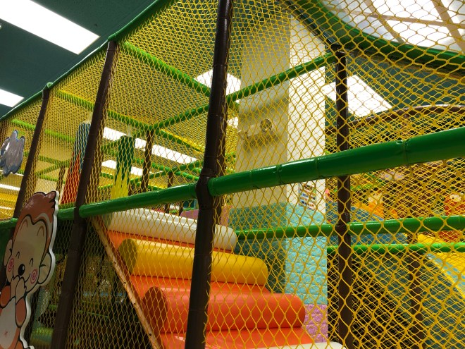 Playground at the Funtastic KidZone