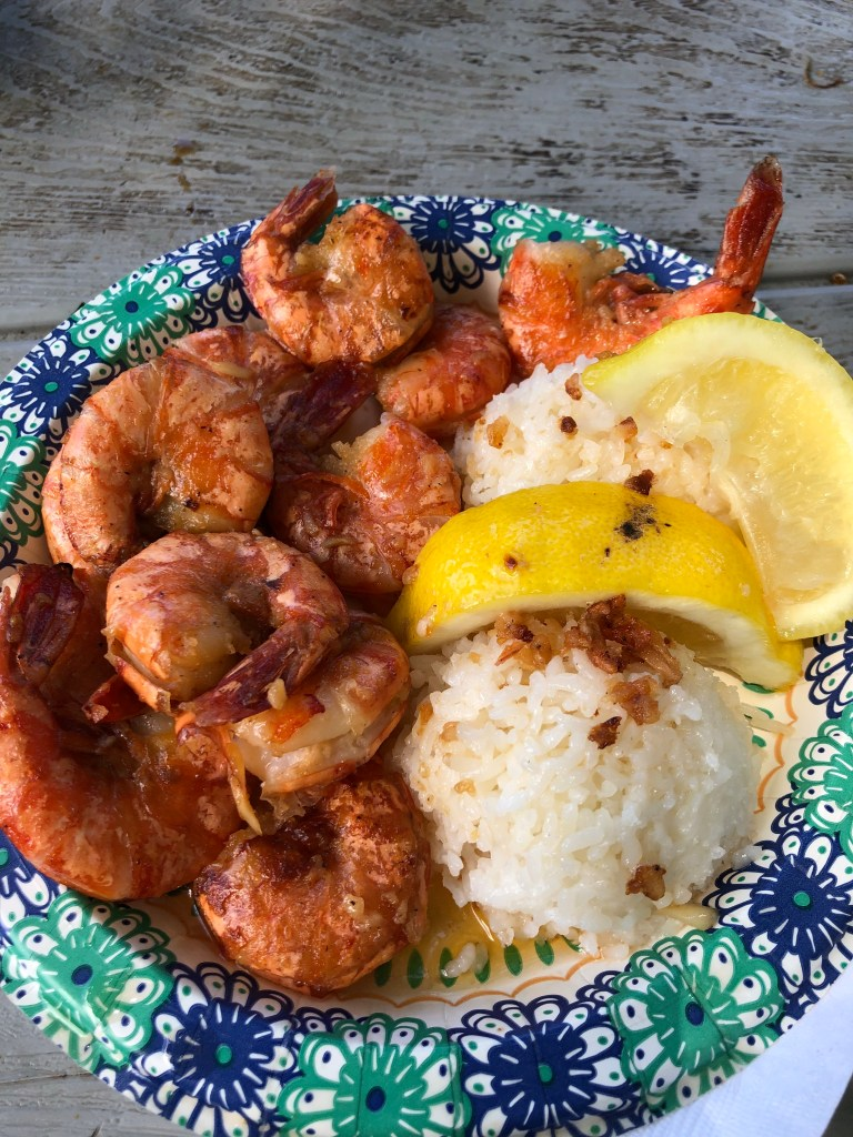 North Shore Food Option: Giovanni's Shrimp Plate