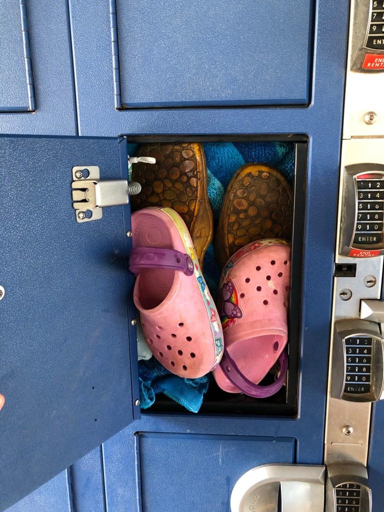 The Small Locker at Wet n Wild