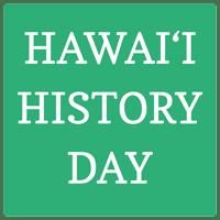 Hawaii History Day Square Logo