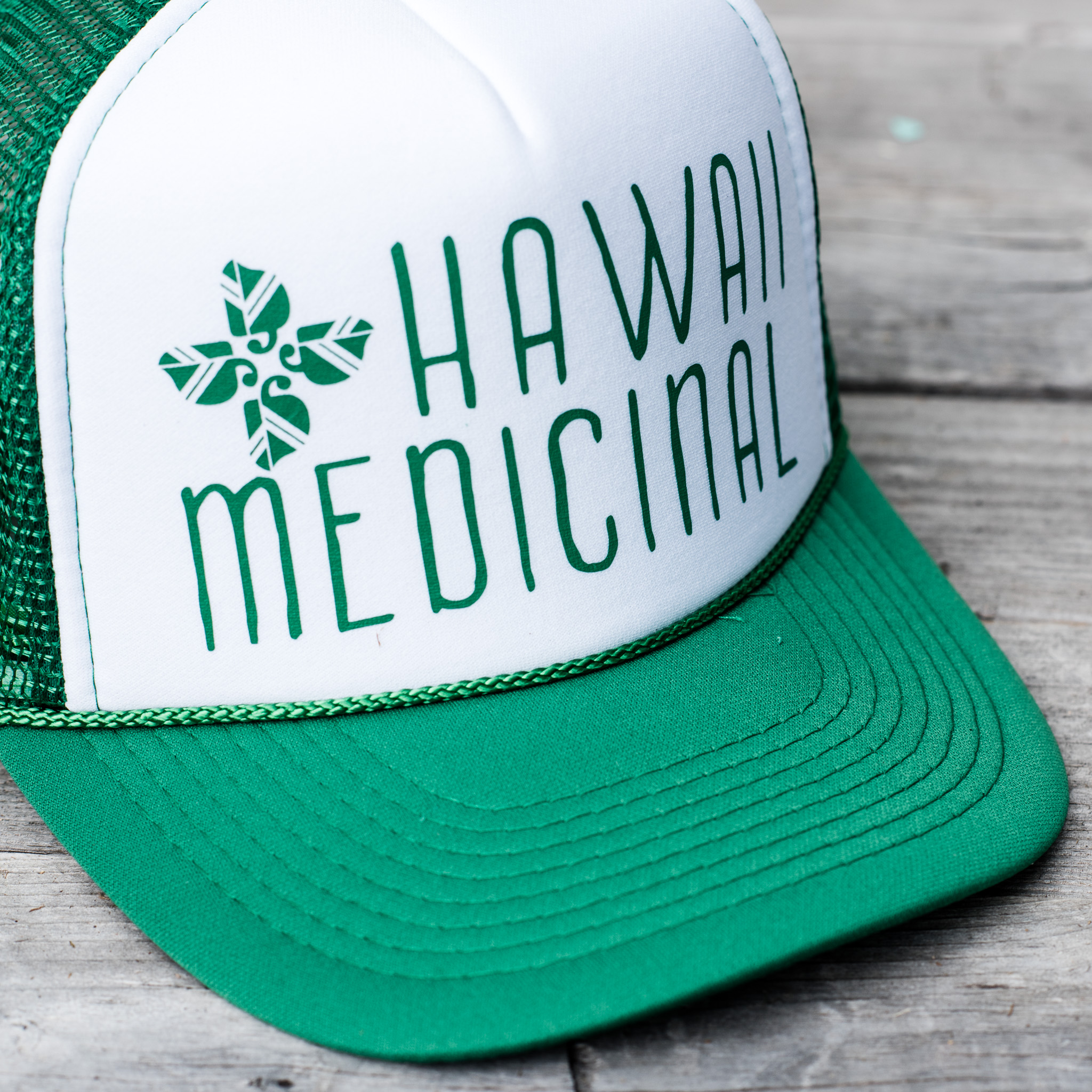 HM Green Trucker Hat