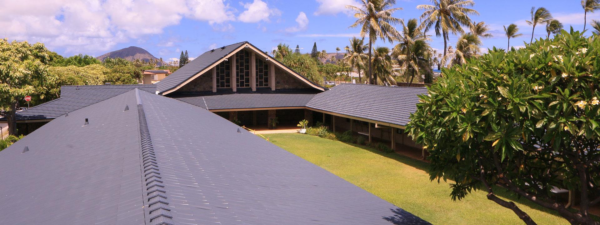 Hawaii Metal Roof Church