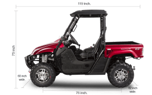 BMS Ranch Pony-500 UTV Specifications