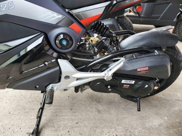 Apollo Bullet 49cc Gas Moped
