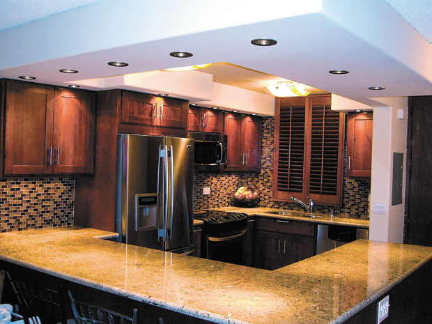 An End Of Summer S Event Golden Cabinets Stone Inc