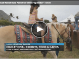 Hawaii News Now: 54th annual Hawaii State Farm Fair will be 'ag-tastic'