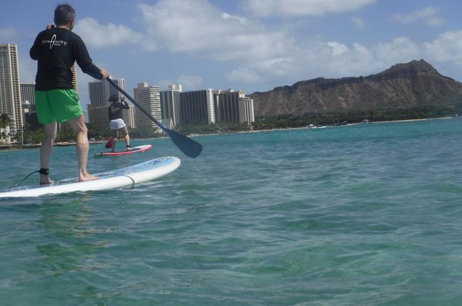 2-Hour Small Group Stand-Up-Paddleboarding on Oahu