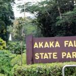 Akaka State Falls Park Entrance