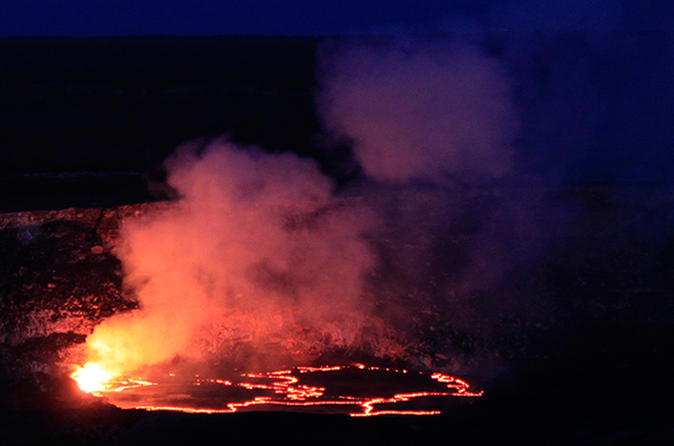 Explore the Night Volcano - Small Group Tour on Hawaii