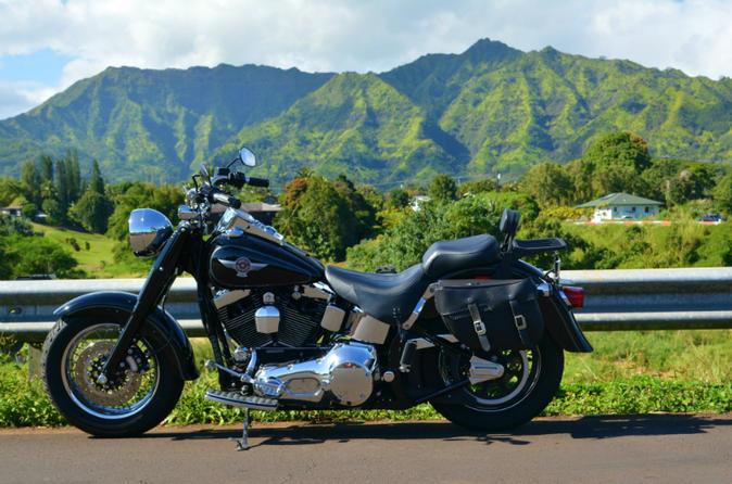 Guided Motorcycle Tour of Kauai on Kauai