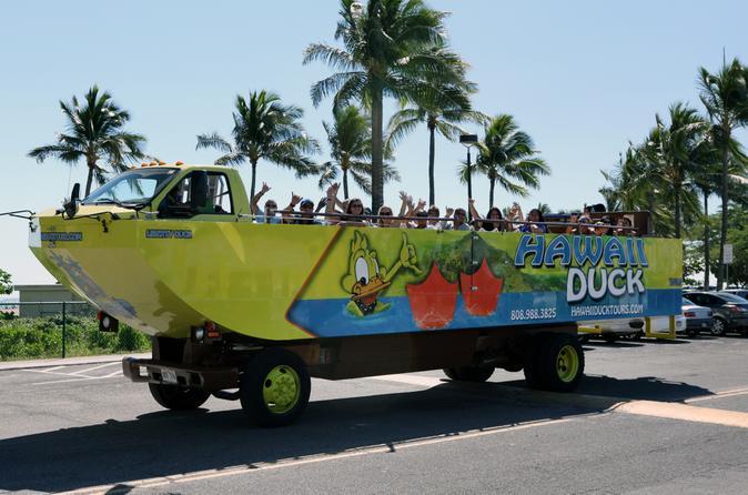 Hawaii Duck Tour: East Oahu Sightseeing
