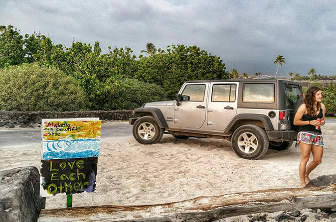 Jeep Off-Roading, Brewery Tour and Sunset Dinner on Hawaii