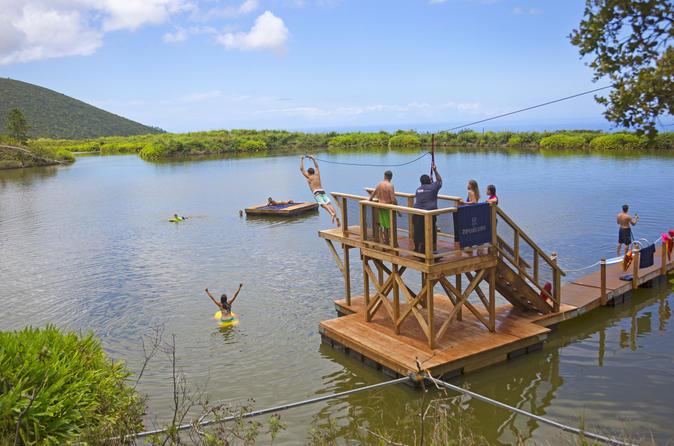 Ka'anapali Adventure: Zipline, Swim and Paddleboard on Maui
