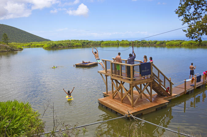 Ka'anapali Adventure: Zipline, Swim and Paddleboard on Maui
