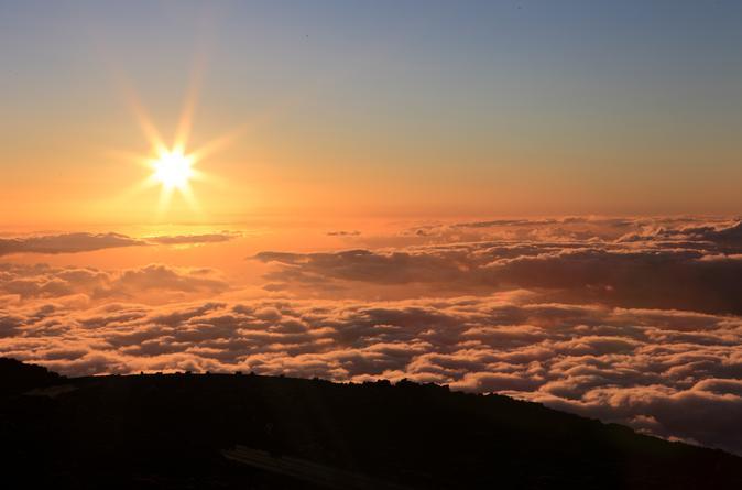 Kahului Shore Excursion: Sunset at Mt Haleakala on Oahu