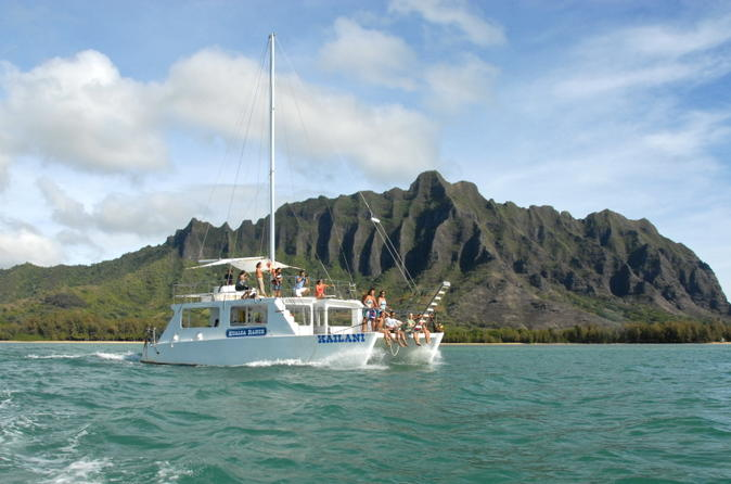 Kaneohe Bay Cruise by Catamaran on Oahu