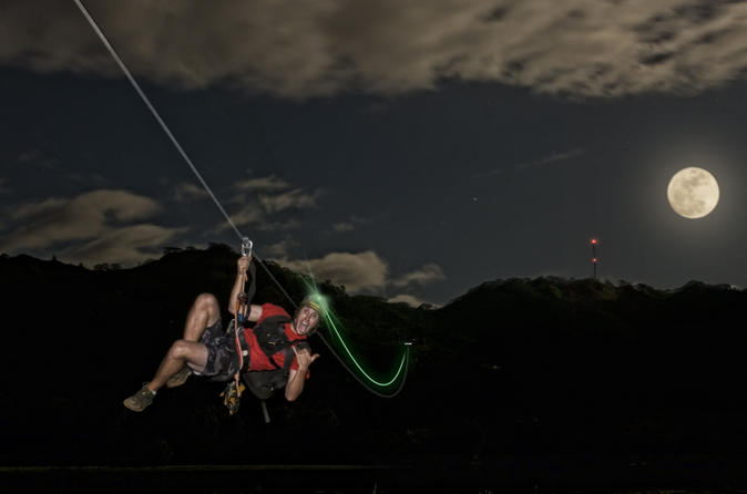 Kauai Zipline Night Adventure on Kauai