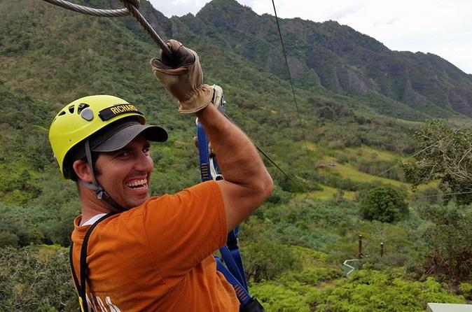 Kualoa Ranch Zipline Tour on Oahu