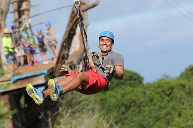 Maui Zipline Tour on the North Shore on Maui