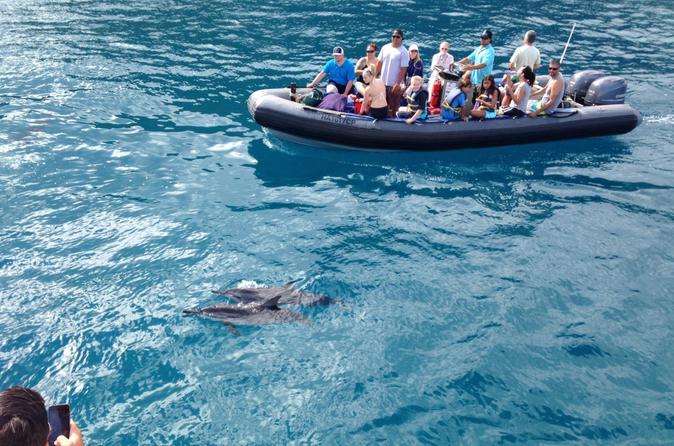 Na Pali Coast Snorkel and Rafting Adventure on Kauai