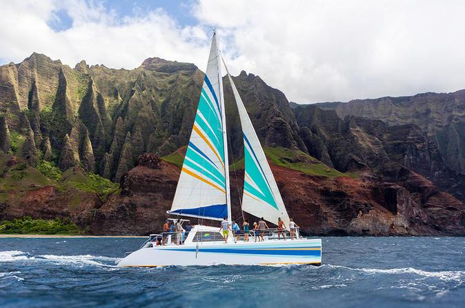 Napali Coast Kauai Snorkel and Sail on Kauai on Kauai