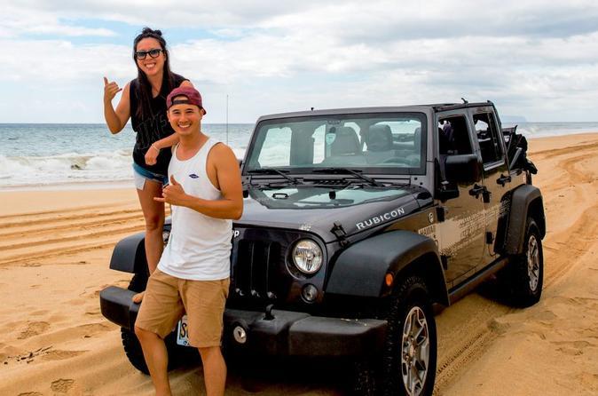Private Safari Jeep Tour on Oahu